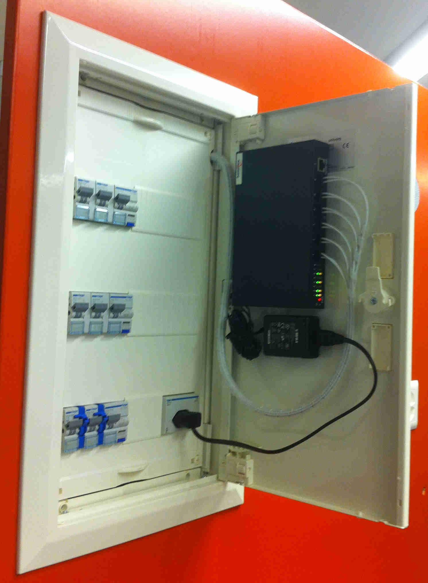 Heimnetzwerk-Nachrüstung - Homefibre Switzerland