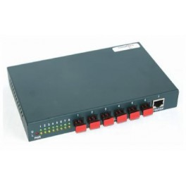 6+2 Port Gigabit POF Switch