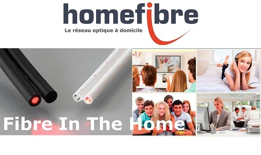 Homefibre = FITH - Fiber In The Home = Fibre à la maison